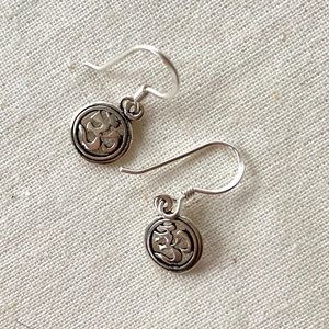 Jewelry - Sterling Silver Om earings